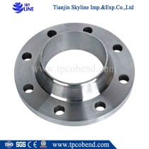 Export standard stainless carbon steel slip-on neck flange  from China