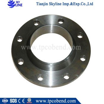 DIN JIS ASTM Forged Plate flange Flat flange with ISO certificate