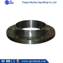 China carbon steel welded neck pipe fitting flanges