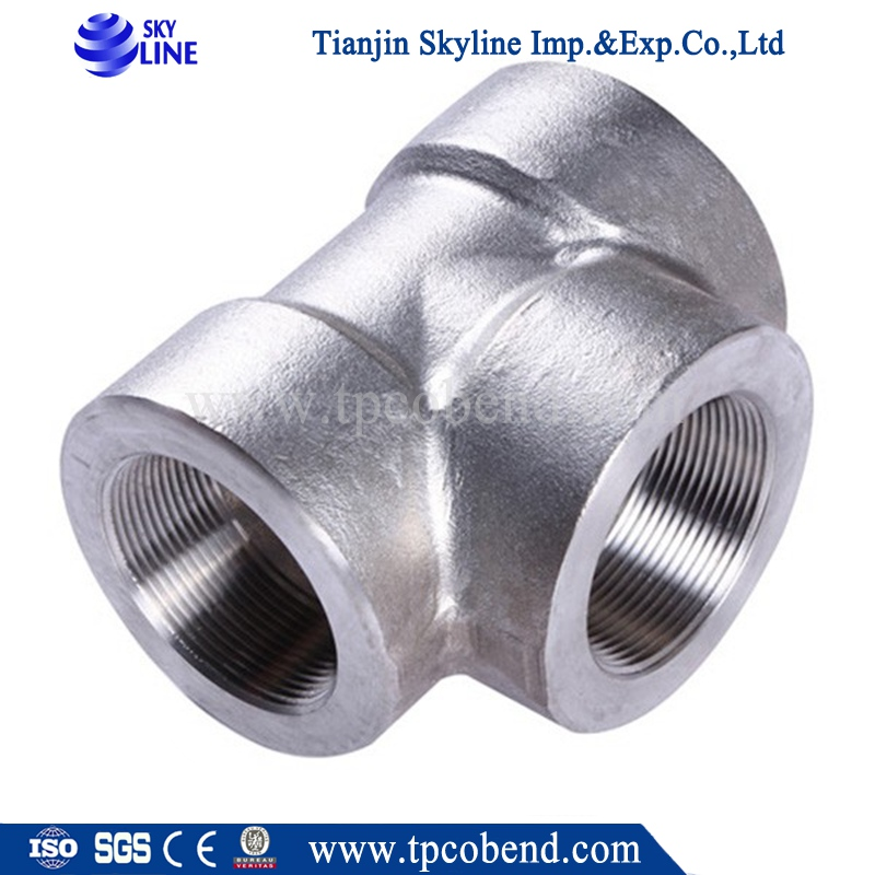 Forged socket weld pipe fitting galvanized fittings