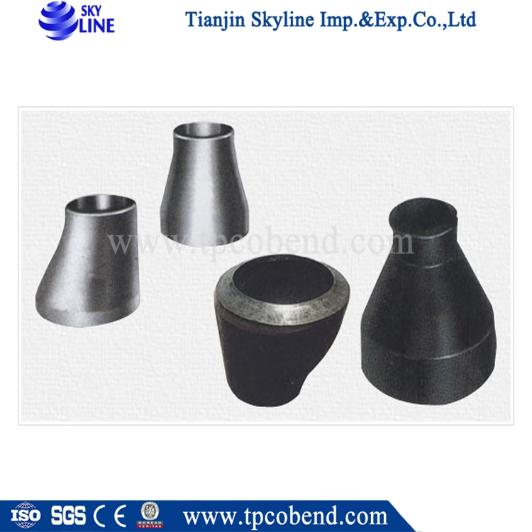 Eccentric reducer types galvanized forged carbon steel
