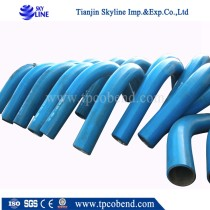 high pressure butt welded seamless alloy steel bend pipe