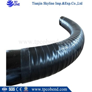 API 5L 3PE anticorrosion hot induction seamless steel pipe bends R=3D/5D