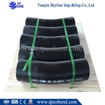 hot induction 3D bend pipe 90 degree with high quality