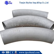 stainless steel exhaust sch40 pipe bend manufacturer