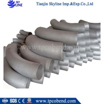 stainless steel high pressure 3d SCH40 bend pipe
