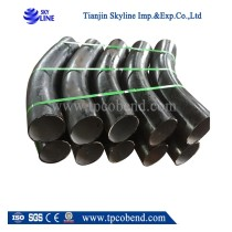 90 degree sch40 carbon steel pipe bends