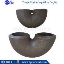 China factory direct supply galvanized steel u bend pipe for wholesales