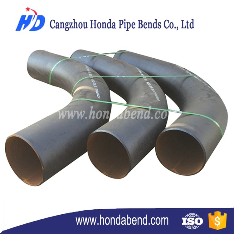 China custom Pipe bend Hot Induction Carbon steel fitting