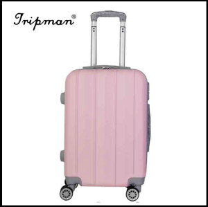 ABS PC Hardshell Shinning Smooth Trolley Luggage Set