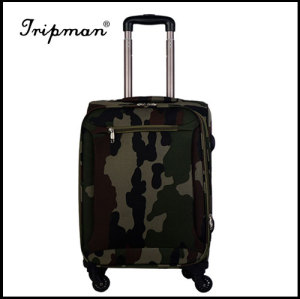 Nylon Luggage set,1680D Farbic,aluminum trolly