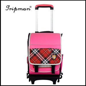 Kids School bag, Made of Nylon, Trolley Part and 210D Lining
