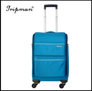 Nylon Fabric Inside Trolley Light Weight Travel Luggage Set