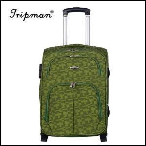Vintage Soft Light weight Nylon Luggage