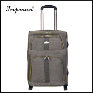 New Design Gray Fashionable Soft Nylon Luggage