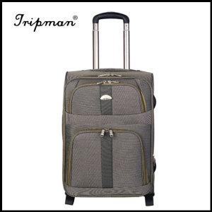 New Design Gray Fashionable Soft Nylon Luggage