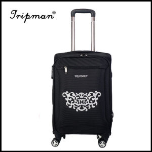 Stylish Designed Soft-side Trolley Luggage, Made of Nylon