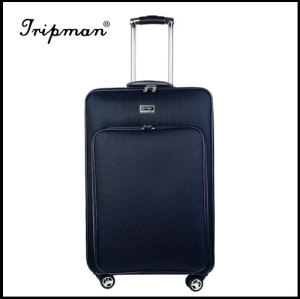 New Design 4 airplane wheels large capacity Soft PU Luggage