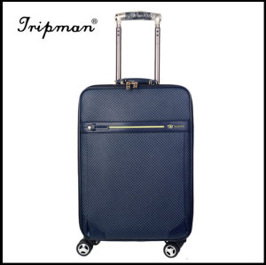 4 Airplane Wheels PU leather Fashionable travel Trolley luggage