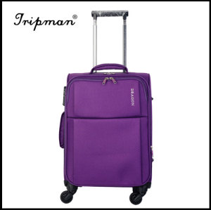 4 Wheels Light weight Soft Nylon Luggage