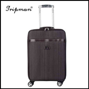 New Product 2017 new colored crossing luggage bag , top brands trolley luggaeg bag