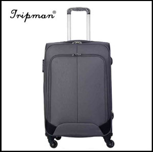 4-spinner wheels upright trolley luggage