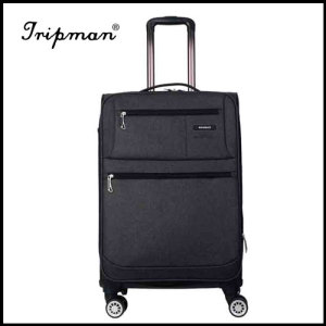 4 Airplane Wheels New Design Light weight Soft Nylon Luggage