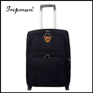 Trolley bag with inner trolley system, made of nylon and steel frame, customized orders are accepted