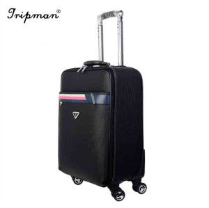 PU Leather Business Case Boading Luxury Box Carry-on Luggage