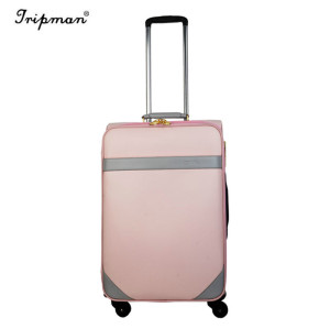 Travel Boarding Box Soft Leather Cosmetic Bag Trolley Luggage Set