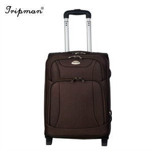 Nylon EVA Luggage Box Soft Leather  Bag Trolley Luggage