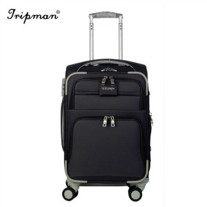 Tripman  EVA Luggage  Soft Leather  Bag Outside Trolley Luggage