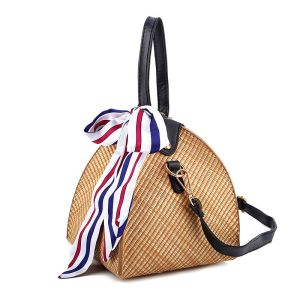Wholesale Customized Straw Bag Straw Clutch Bag Beach Tote Bags
