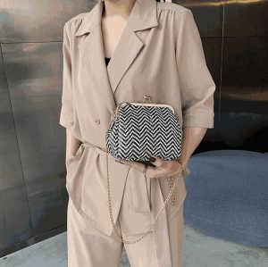Fashion Women Straw Bag Sling Shoulder Crossbody Messenger Bags Beach Wallets For Ladies