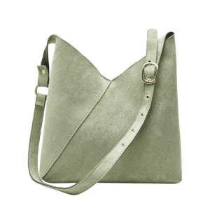 Hobo style leisure shopping felt ladies crossbody purse messenger shoulder bag handbag for women