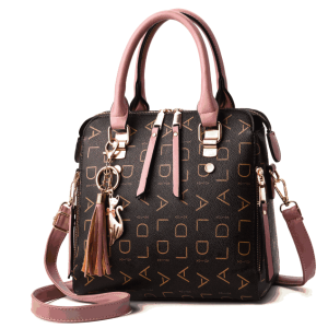 Character pattern cute cat tassel ladies crossbody purse messenger shoulder bag handbag for women