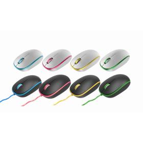 3D Colorful Wired Mouse for desktop and Laptop