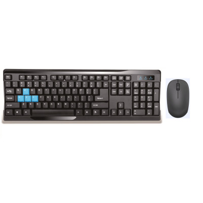 2.4G Wireless Black Keyboard and Mouse Combo
