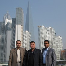 Customers from Algeria, and met in Shanghai