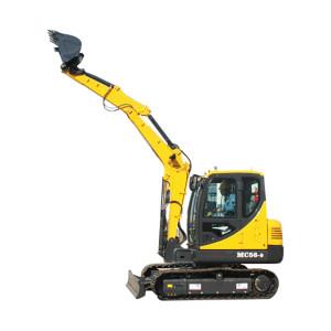 MC56 escavadora de lagartas | Balde de 0,2m3 | 5,2 ton. Escavador hidráulico