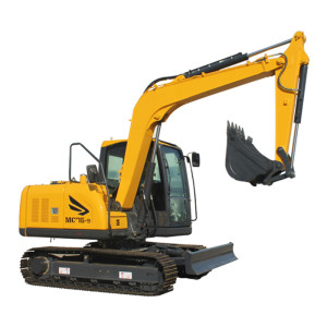 MC76 crawler excavator | 0.32m3 bucket | 7.65 ton | hydraulic excavator | construction machinery