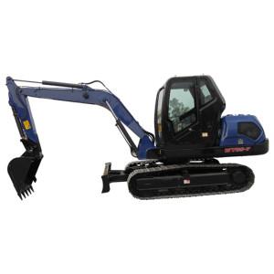 WY85 crawler excavator | 0.3m3 bucket | 7.76 ton | hydraulic excavator | henglida excavator