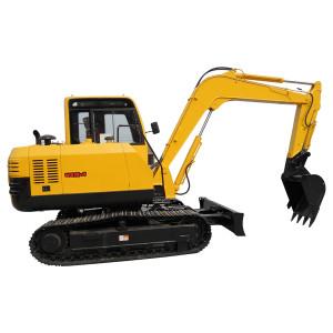 WY75 crawler excavator | 0.25 m3 bucket | 6.31 ton | hydraulic excavator | construction machinery