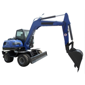 WYL90 wheel excavator | 0.35m3 bucket | 8.88 ton | 4 wheel driven | mobile excavator