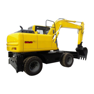 WYL135 wheel excavator | 0.45m3 bucket | 12.85 ton | 4 wheel driven | wheel excavator supplier