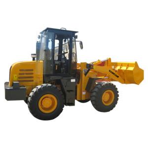 SAM828 wheel loader | cummins engine | 1.2m3 bucket | 2 ton rated load | henglida construction machinery