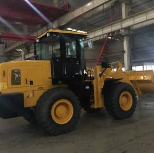 LW400KN4 ton, 2.4m3 wheel loader   4 ton rated load   cummins engine   hot sale wheel loader   quality wheel loader
