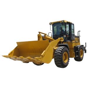 HOT SALE | LW400KN wheel loader CE | 2.4m3 bucket | 4 ton rated load | hot sale wheel loader | henglida-heavy machinery