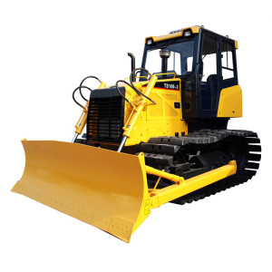 TS100 swamp bulldozer | mechanical driven | 81kw (110HP) | 2m3 blade | 11.36 ton | mechanical track bulldozer | China Bulldozer