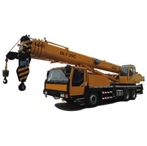QLY25C truck crane   U-shape telescopic boom crane   mobile crane   25 ton lifting capacity   construction crane – henglida construction machinery company